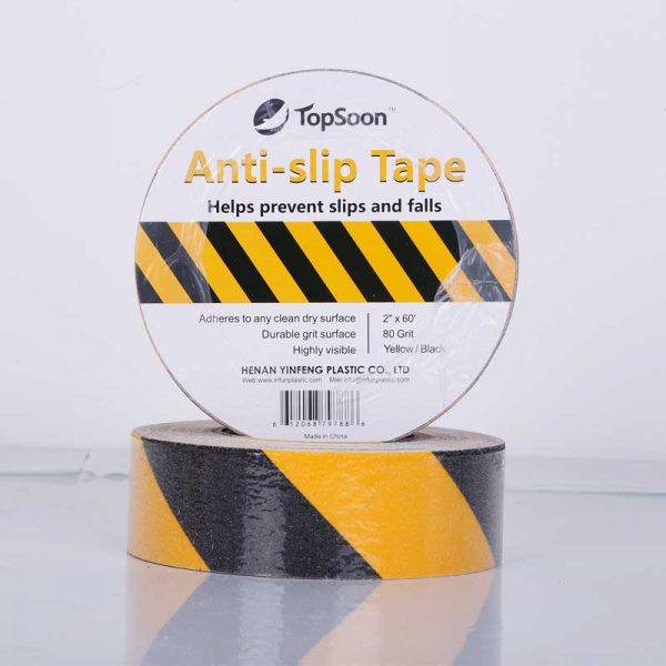 Black Yellow Anti Slip Tape