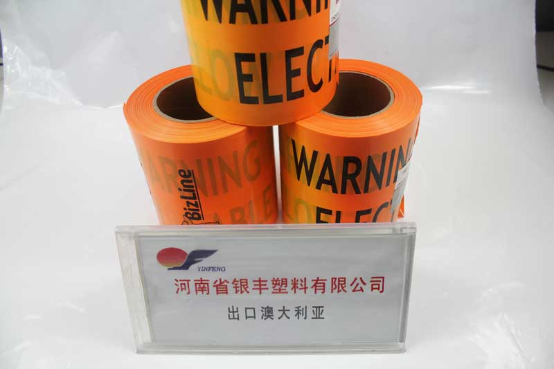 Orange Underground Marking Tape