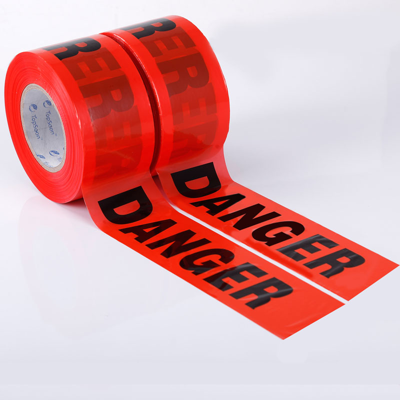 Red and Black Danger Tape
