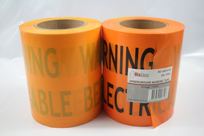 yellow/black barrier tape – custom printed tape